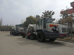 RZ530 Cold recycler machine exported to Mongolia
